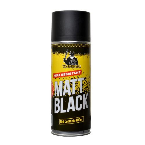 Heat Resistant Matt Black Aerosol Paint