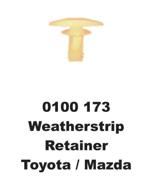 Universal Weather Strip Retainer