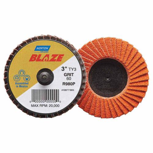 Norton Blaze Mini Flap Discs 50mm