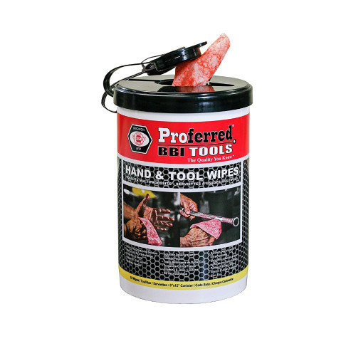 USA Proferred Hand & Tool Wipes 82 Sheets