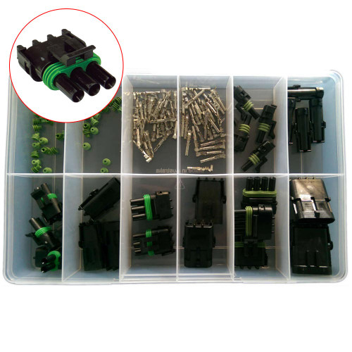 Weather Pack Housing Grab Kit (GKWCWP)