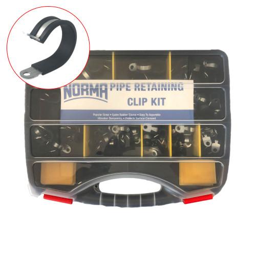 Norma Pipe Retaining Clamp Assortment 90 Piece (PCA90)