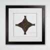 Woven Together - Framed Carved Bronze