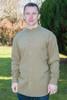 Men's Traditional Long Sleeve Grandfather Shirt - Moss Green