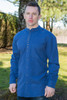 Men's Traditional Long Sleeve Grandfather Shirt - Dusty Blue