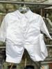 Boys' Shamrock Christening Suit with Cap