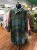 Women's Multicolor Tweed Swing Coat
