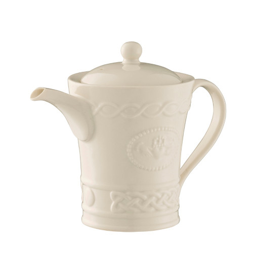 Belleek Claddagh Teapot