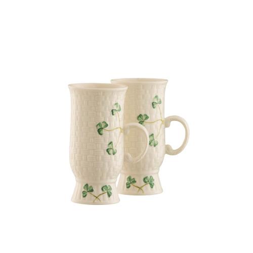Belleek Irish Coffee Mugs (Set of 2)