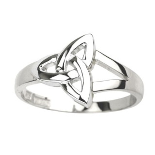Women's Sterling Silver Celtic Trinity Knot Ring