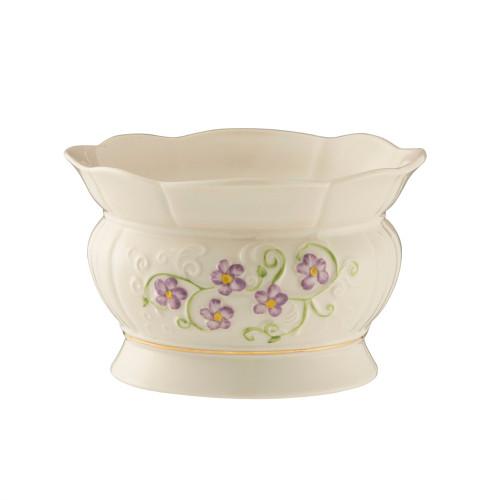 Belleek Irish Flax Bowl