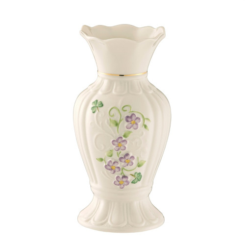 Belleek Irish Flax Vase