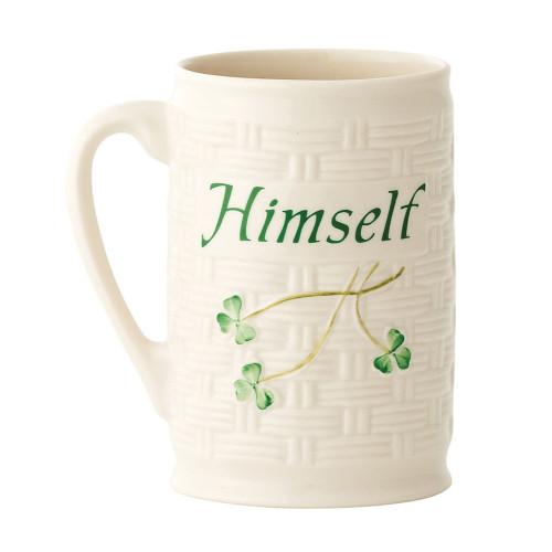 Belleek Himself Mug