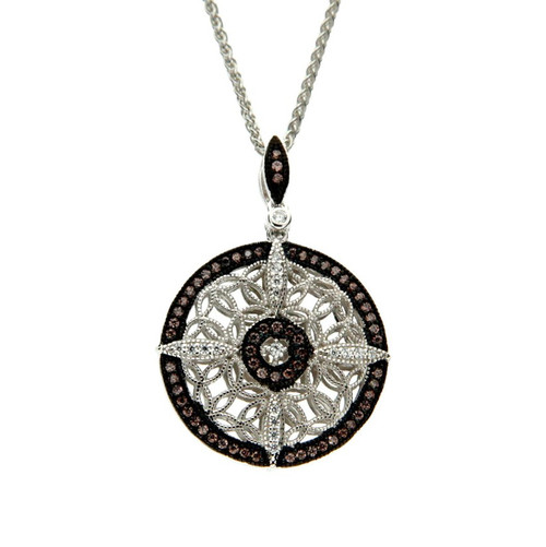 Reversible Night and Day Necklace - Front