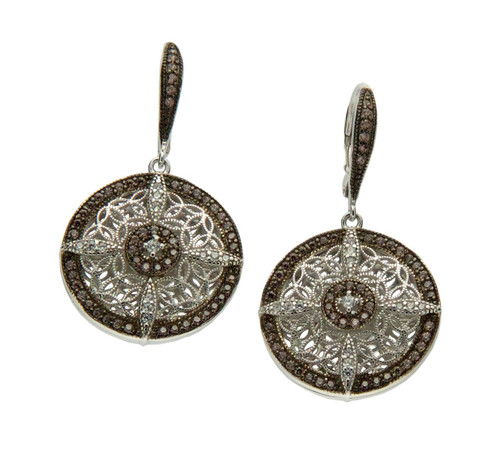 Reversible Night and Day Earrings