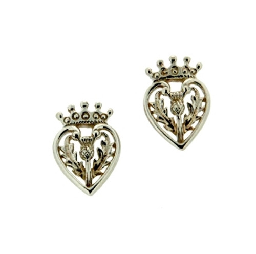 Scottish Luckenbooth Stud Earrings