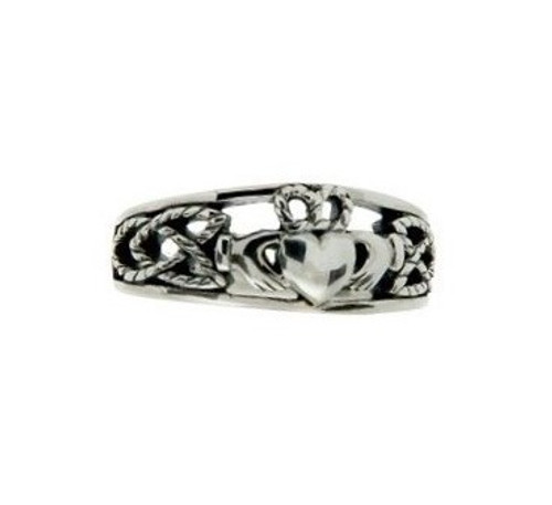Women's Small Claddagh Ring