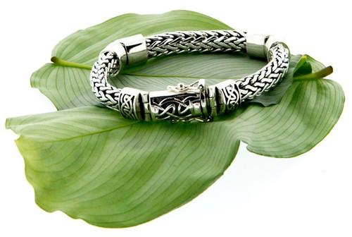 Unisex Dragon Weave Bracelet