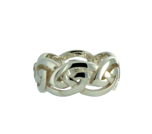 Large Open Celtic Knot Ring