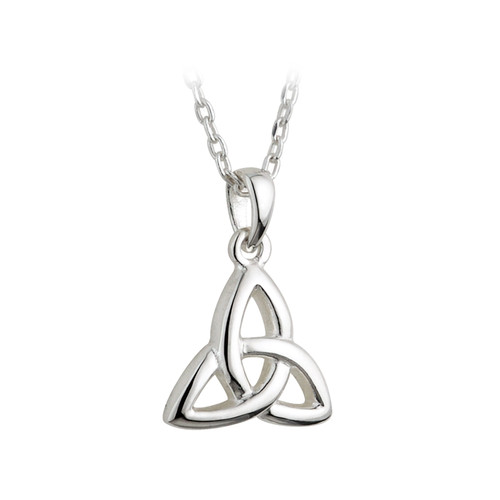 Children's Sterling Silver Trinity Knot Pendant