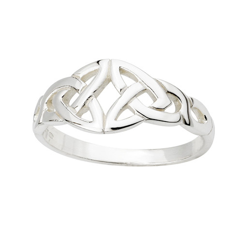 Women's Sterling Silver Celtic Knot Ring