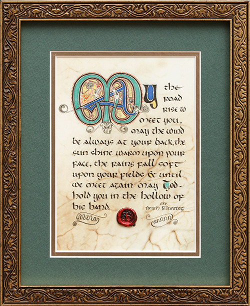 Irish Blessing 8x10 Framed