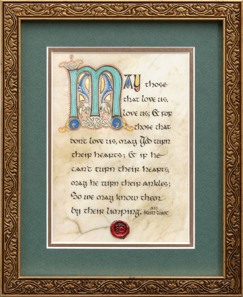 Limping Toast 8x10 Framed