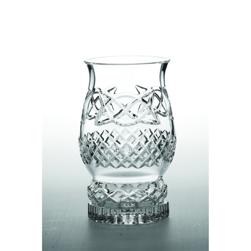 Crystal Celtic Pillar Hurricane Lamp