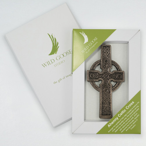 Ahenny Celtic Cross - Carved Bronze