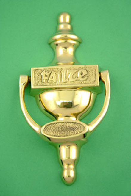 """Fáilte"" Brass Door Knocker"