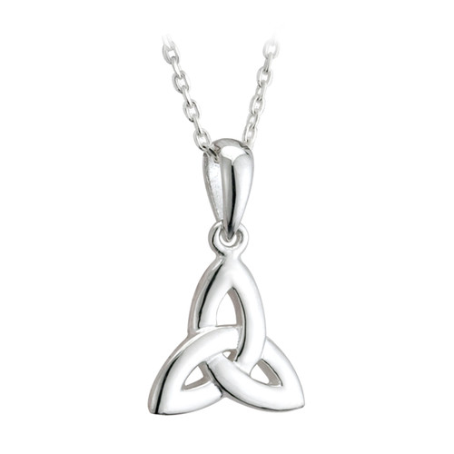 Sterling Silver Tiny Trinity Knot Pendant