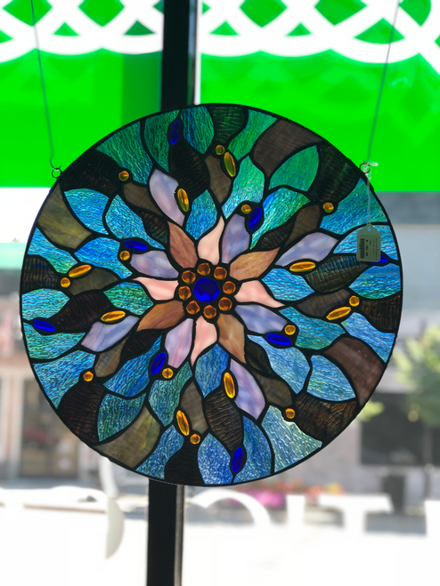 Fairy Pool Stained Glass Window