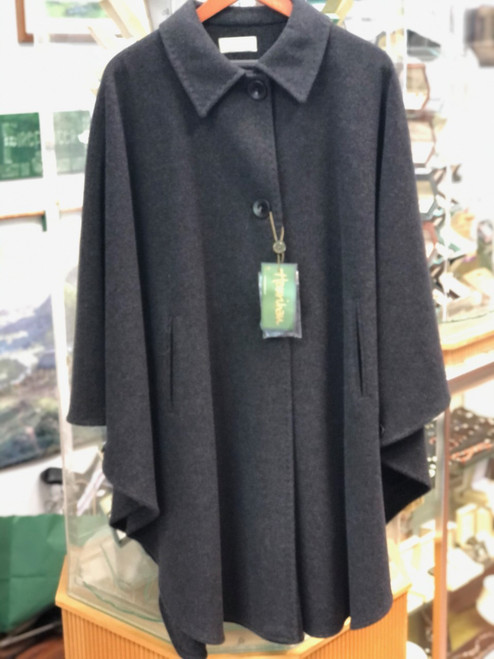 Grey Wool/Cashmere Cape