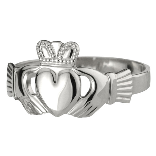 Women's Sterling Silver Claddagh Ring