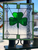 Shamrock Paragon Stained Glass Window