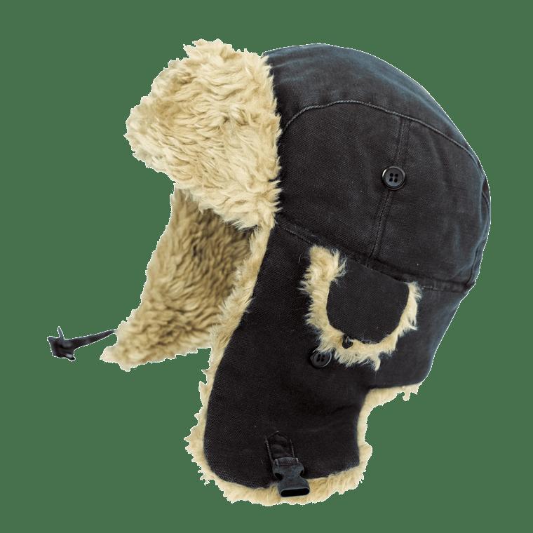 Classic Aviator's Hat in Black - ToughWorkz.com