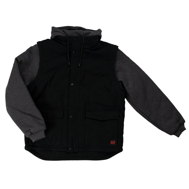 Tough Duck Detachable Sleeve Jacket, 6 Sizes