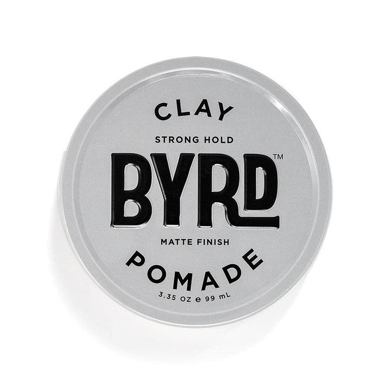 Byrd Strong Hold Clay Pomade 3.35 - ToughWorkz