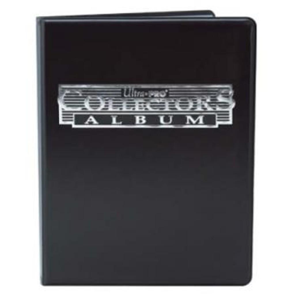4 Pocket Collectors Portfolio - Black