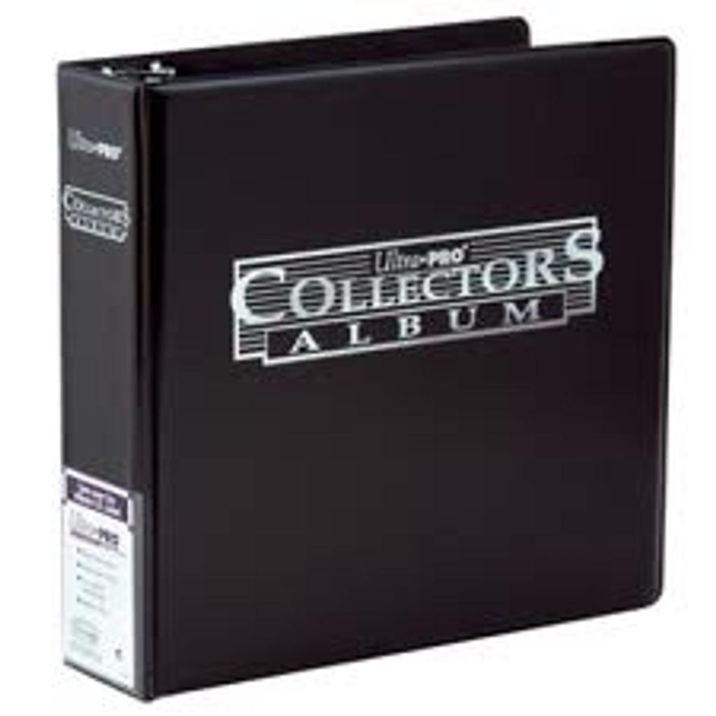 """3"""" Collectors Album - Black - Ultra Pro"""