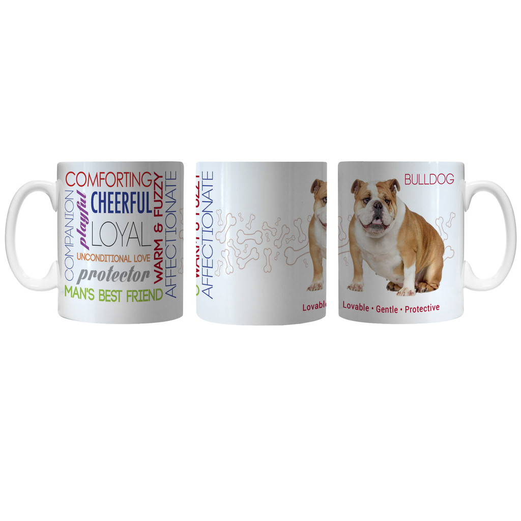 Pet Coffee Mug 11oz Bulldog