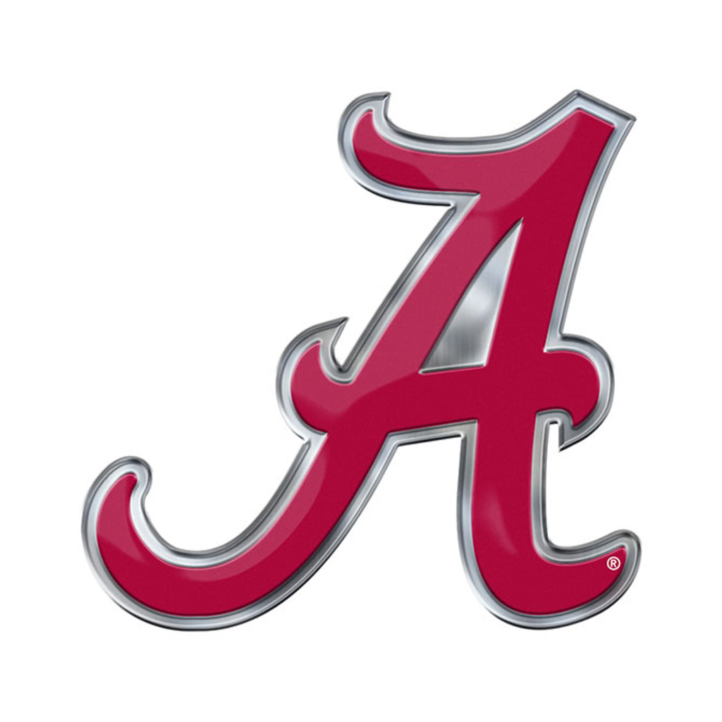 Alabama Crimson Tide Auto Emblem Color Alternate Logo