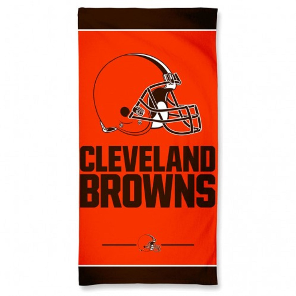 Cleveland Browns Towel 30x60 Beach Style