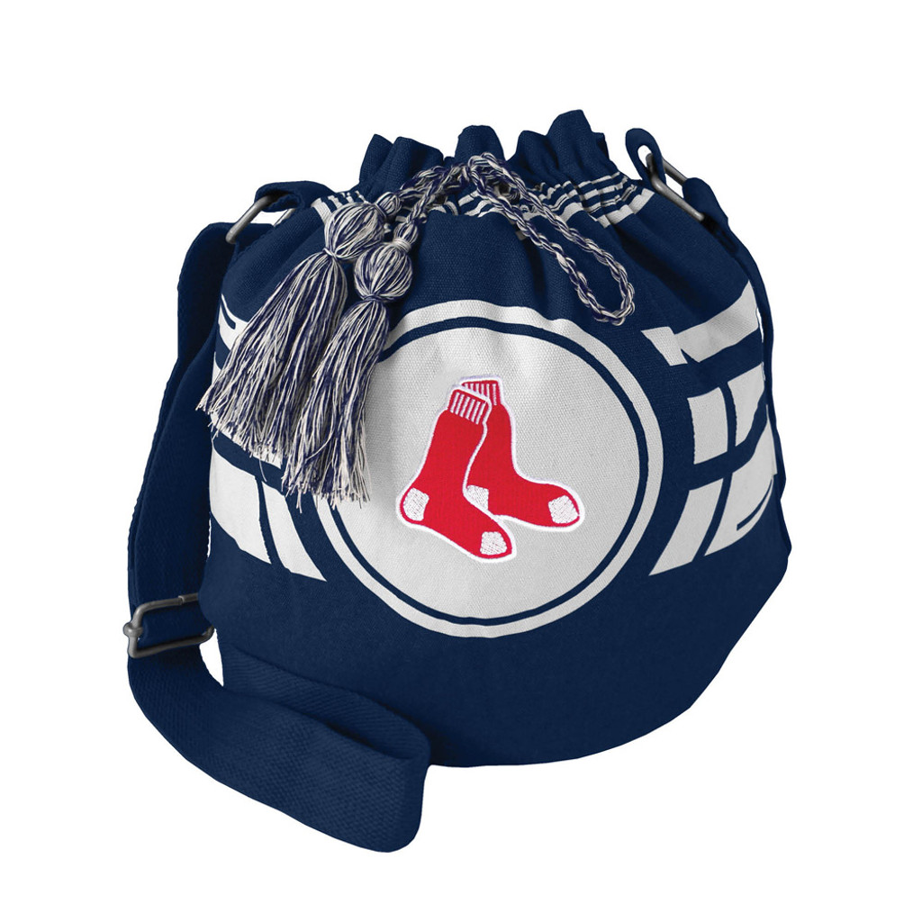 Boston Red Sox Bag Ripple Drawstring Bucket Style