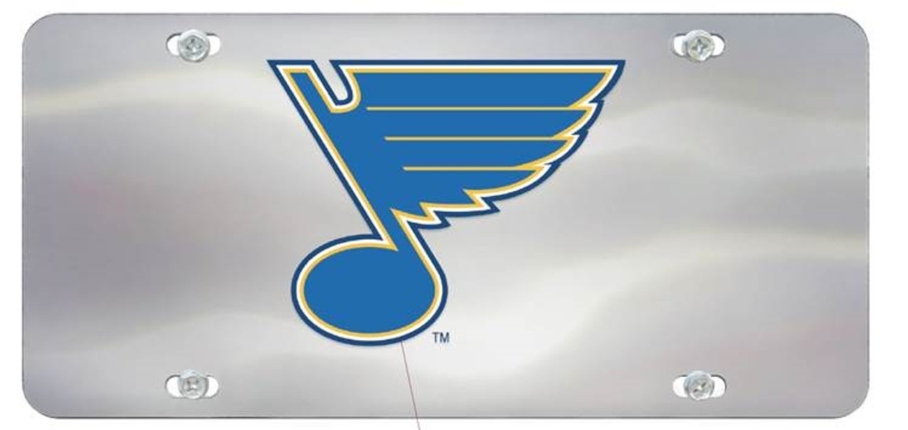 St. Louis Blues License Plate Diecast Special Order