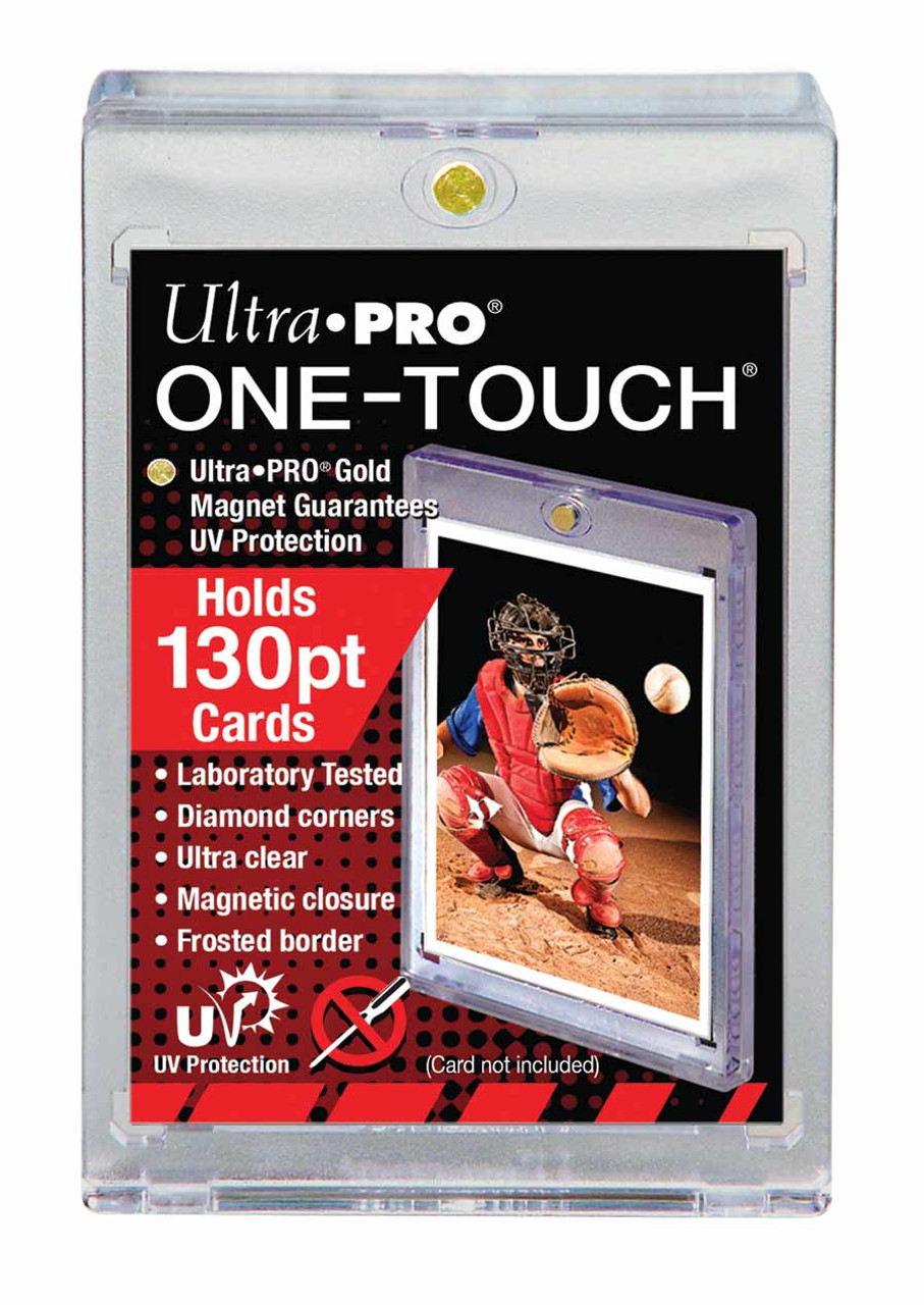 One Touch UV Card Holder with Magnet Closure - 130pt