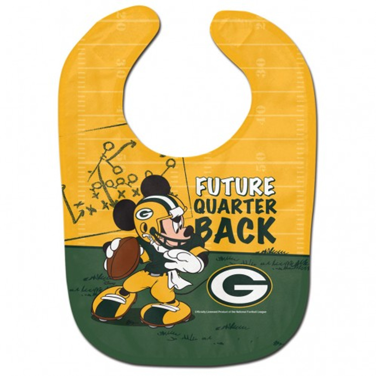 Green Bay Packers Baby Bib All Pro Future Quarterback - Special Order