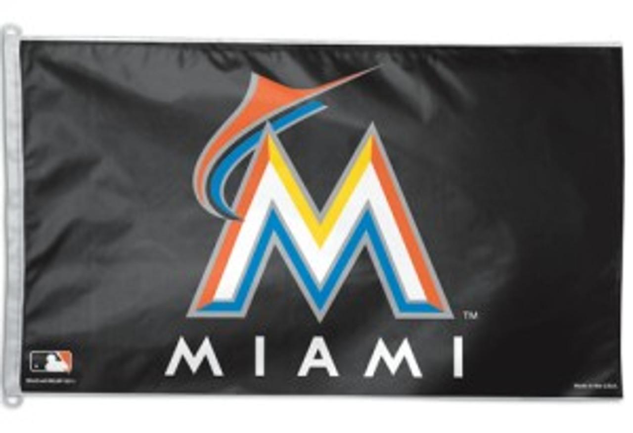 Miami Marlins Flag 3x5 Special Order