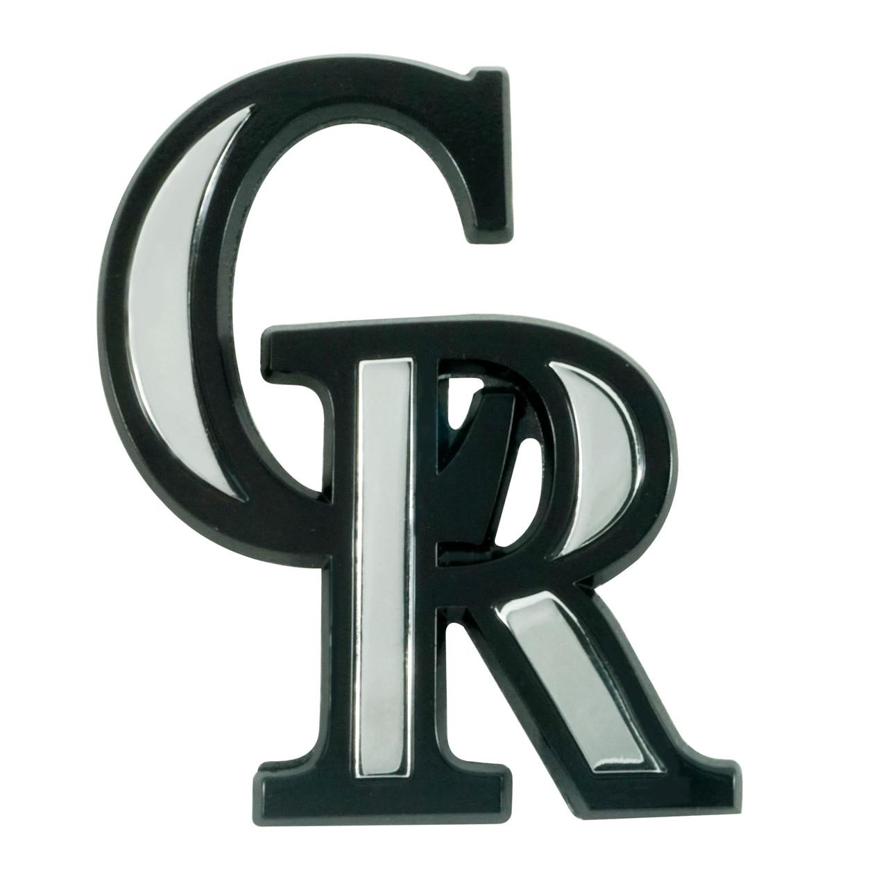 Colorado Rockies Auto Emblem Premium Metal Chrome Special Order