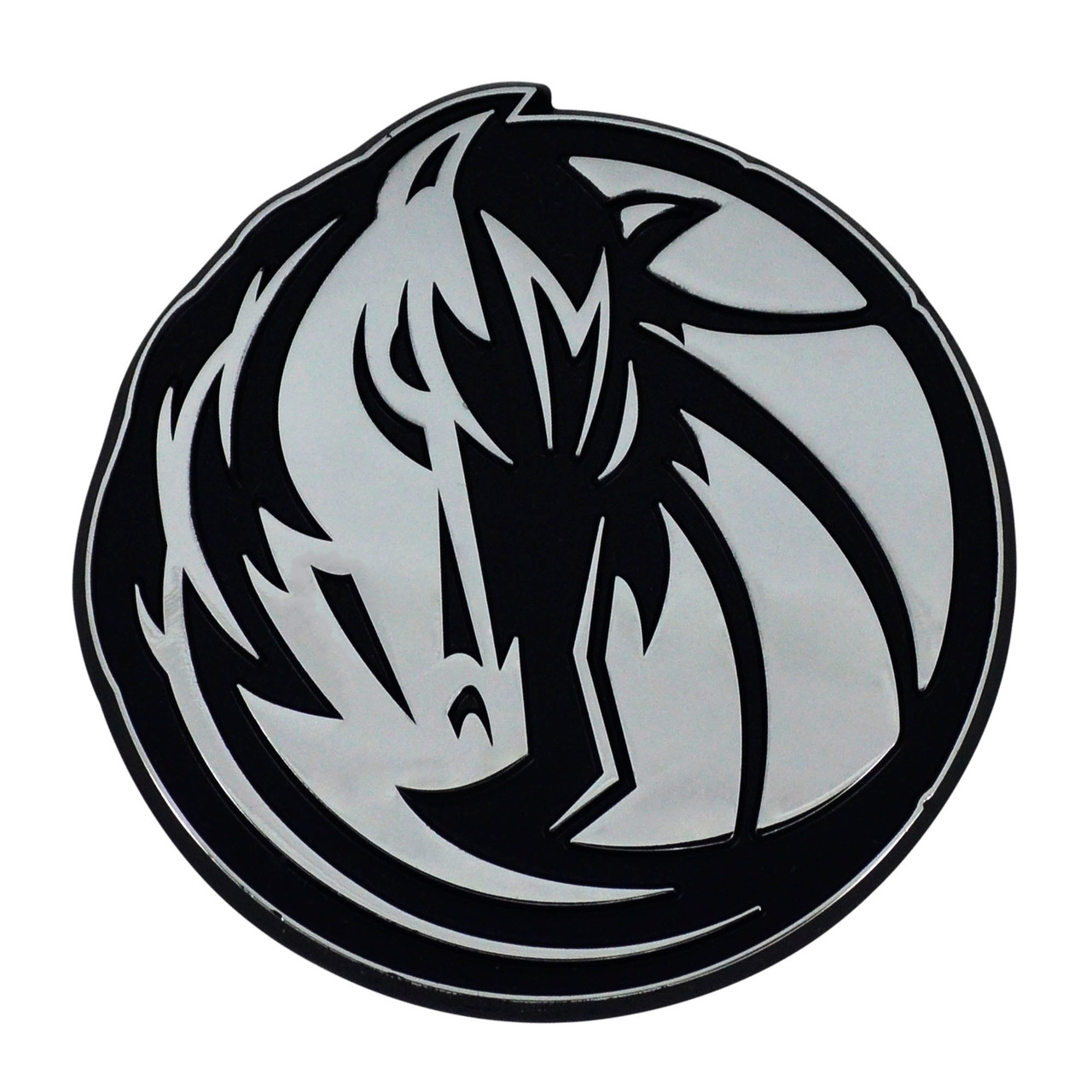 Dallas Mavericks Auto Emblem Premium Metal Chrome Special Order
